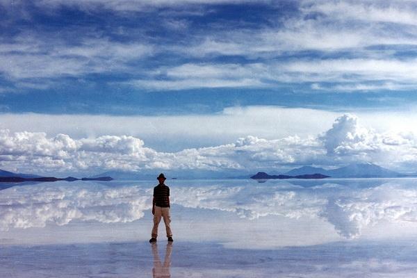 Озеро Salar de uyuni, Боливия