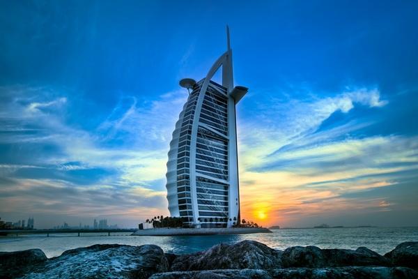 "Отель ""Бурдж аль-Араб"", Дубай"